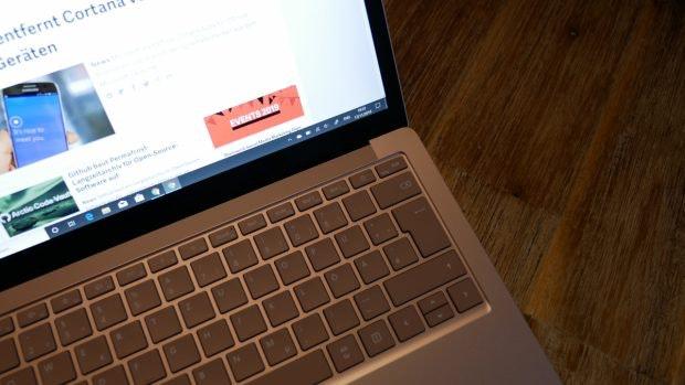 Surface Laptop 3. (Foto: t3n)