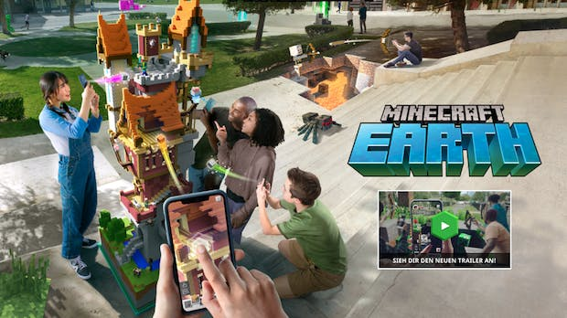 Minecraft Earth: Augmented-Reality-Game jetzt auch in ...