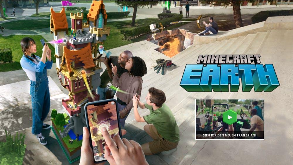 Minecraft Earth: Augmented-Reality-Game jetzt auch in Deutschland spielbar