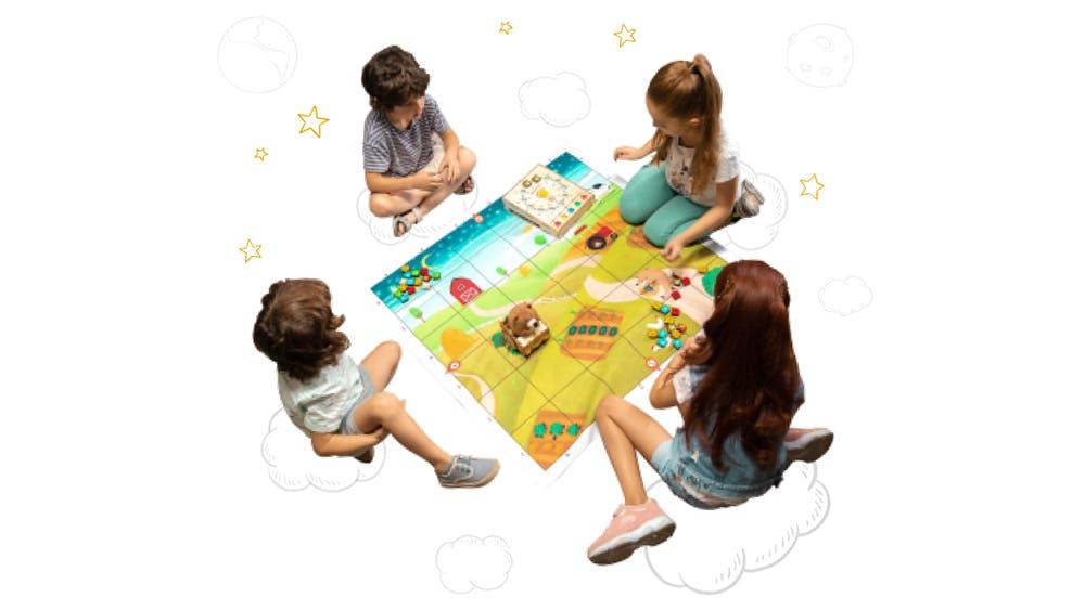 Dieses süße Spiel bringt Kindern das Programmieren bei – ganz ohne Display