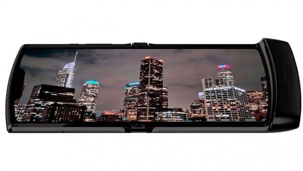 Motorola Moto Razr Foldable. (Bild: Evleaks)