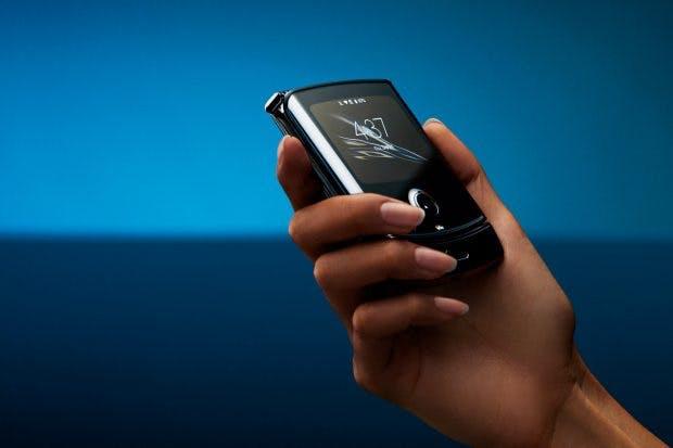 Foldadble: A new edition of the Motorola Razr. (Image: Motorola)