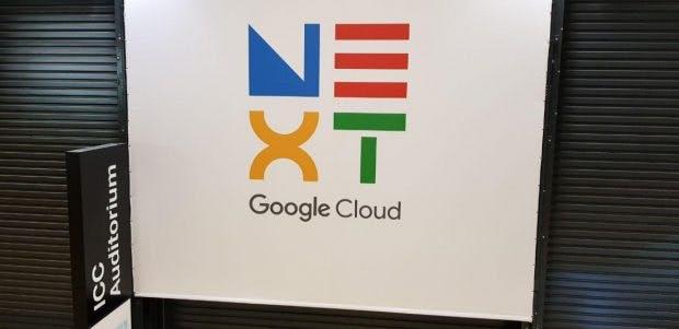 Google Cloud Next '19 Plakat