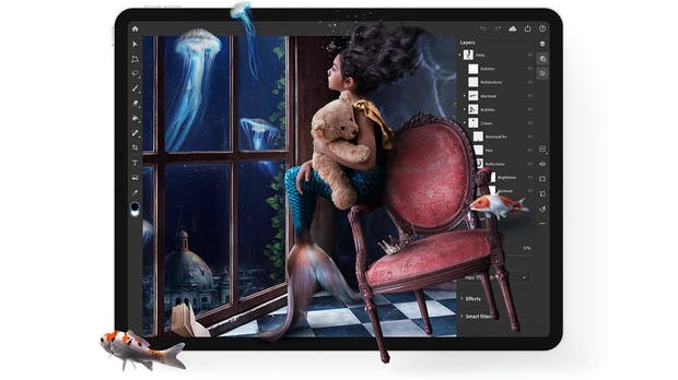Machine Learning: Adobe bringt iPad-Photoshop intelligentes Selektieren bei