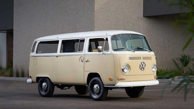 Der umgebaute T2. (Bild: Volkswagen of America)