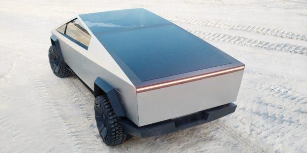 Tesla Cybertruck. (Bild: Tesla)