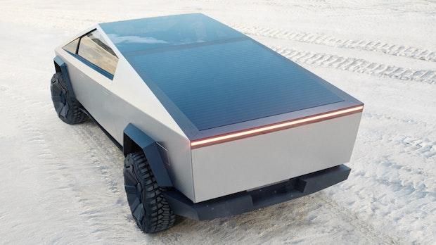 Tesla Cybertruck: Darum ist der Pickup-Truck so eckig