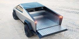 Tesla Cybertruck Ladefläche. (Bild: Tesla)