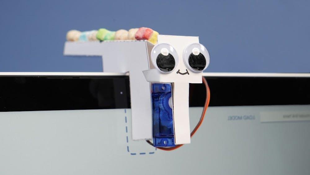 Mit dem Tiny Sorter zeigt Google, wie sich Teachable Machine in Kombination mit einem Arduino nutzen lässt. (Foto: Google)