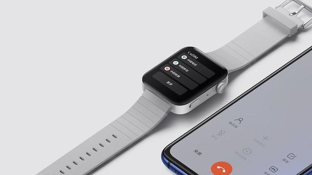Xiaomi baut Apple Watch mit Wear OS nach