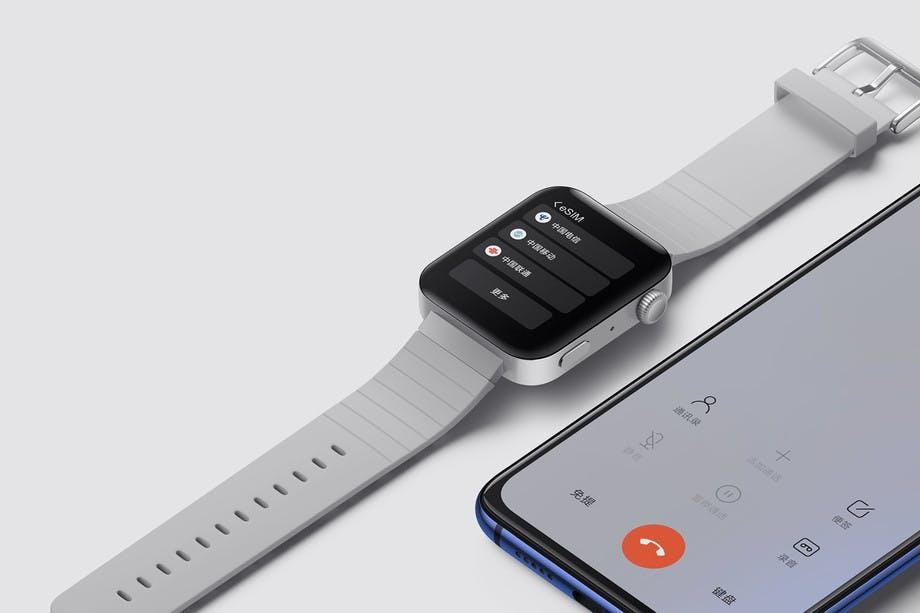 Mi Watch von Xiaomi: Diese Smartwatch erinnert stark an die Apple Watch