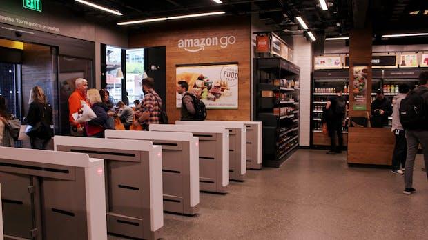 Amazon könnte in die deutsche Fußgängerzone kommen
