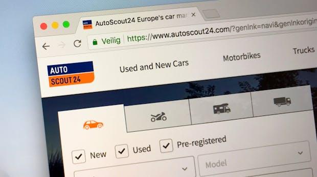 Autoscout24 geht für 2,9 Milliarden Euro an einen Finanzinvestor
