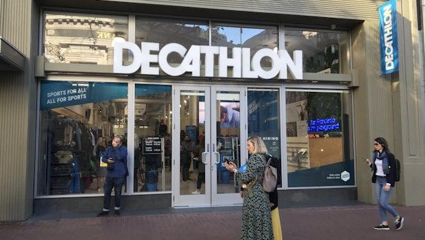 Eingang zum Decathlon-Store in San Francisco. (Foto: t3n/Jochen G. Fuchs)