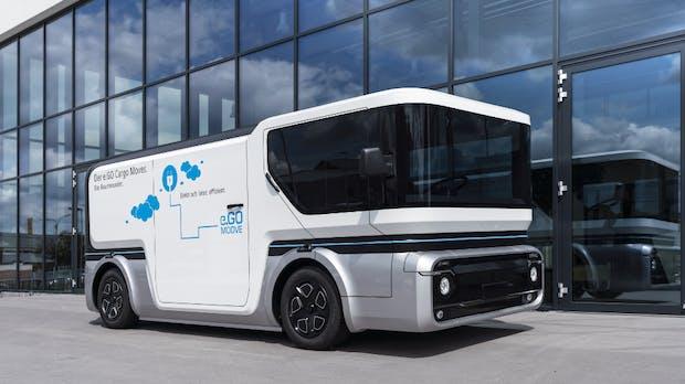 Für Handwerker und Lieferdienste: Ego stellt E-Lieferwagen Cargo Mover vor