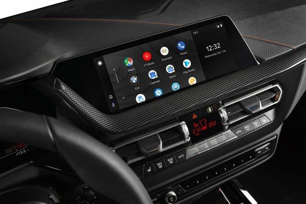 Android Auto im BMW. (Foto: BMW)