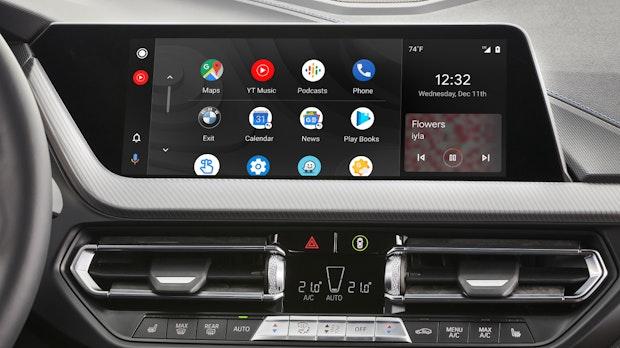 BMW bringt Android Auto per OTA-Update auch zu Bestandskunden