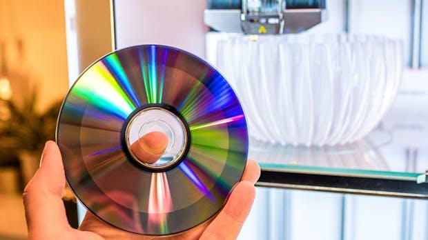 Warum Philips jetzt 3D-gedruckte Leuchten aus CDs anbietet