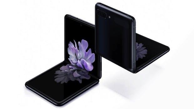 Galaxy Z Flip: Samsungs neues Foldable kommt im Razr-Design