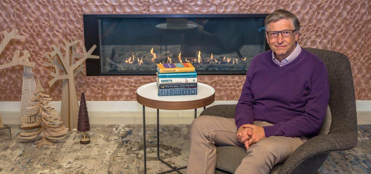 Diese 5 Bücher empfiehlt dir Bill Gates für den Winter