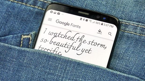 Goofonts macht das Finden geeigneter Google Fonts leicht