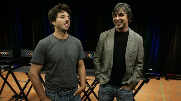 Google-Gründer Brin und Page: Viel Geld verdient, Vision gescheitert