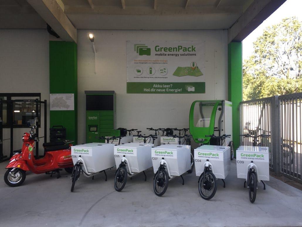 Wechselakku-Station für sekundenschnelles Stromtanken: Greenpack baut aus
