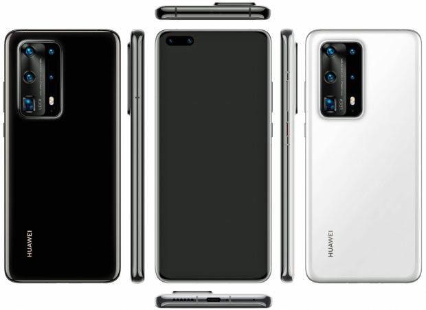 Huawei P40 Pro von allen Seiten. (Bild: Evelaks)