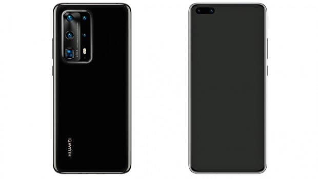 Das Huawei P40 Pro erinnert teilweise an Samsungs geleaktes S20. (Bild: Evleaks)