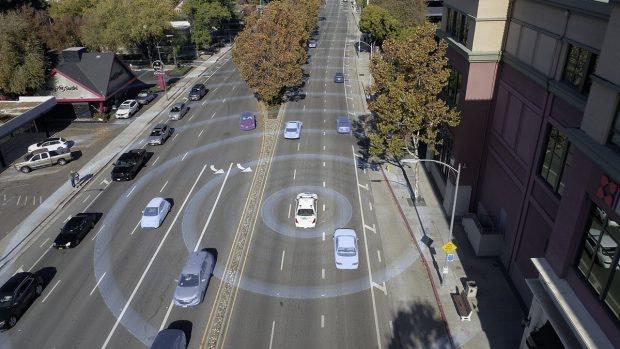 Wie integrieren sich Selbstfahrer in eine heterogene Mobilitäts-Landschaft? (Foto: Mercedes-Benz)