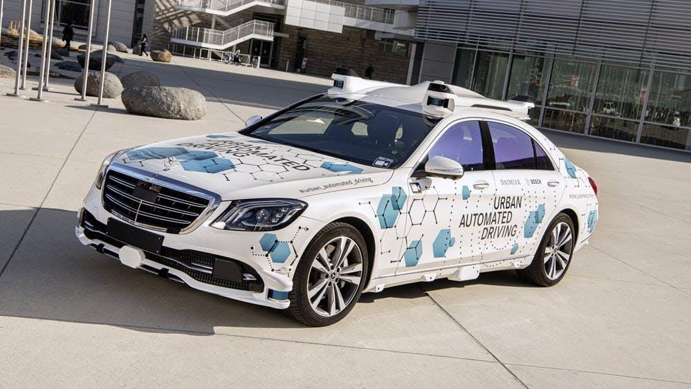 Auf Waymos Pfaden: Mercedes-Benz und Bosch starten Taxi-Service mit Selbstfahrern