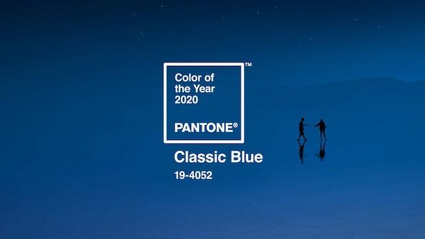 Classic Blue ist die Pantone-Farbe des Jahres 2020