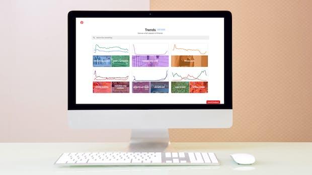 Was ist in auf Pinterest? Neues Tool für Marketer zeigt Trends und Entwicklung