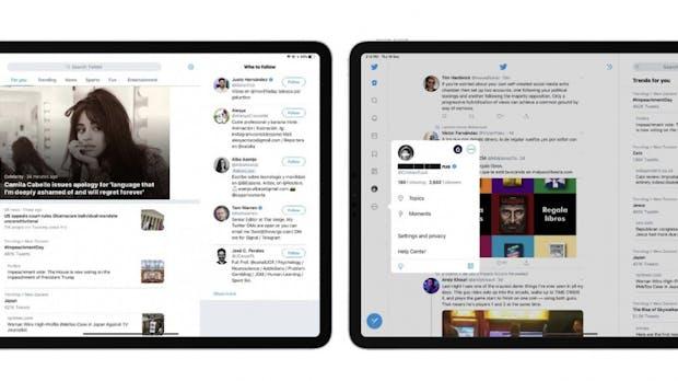 Twitter-App für das iPad wird hübscher