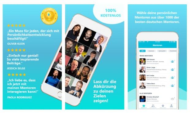 Upspeak ist eine Podcast-App mit Fokus auf Persönlichkeitsentwicklung. (Screenshot: t3n)