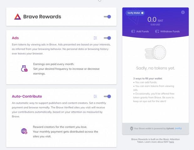 Schritt 3: Verifizierung der Wallet ist Voraussetzung für die Geldentnahme. (Screenshot: t3n)