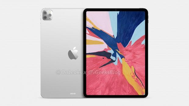 So könnte das iPad Pro 11 (2020) aussehen. (Renderbild: iGeeksblog)