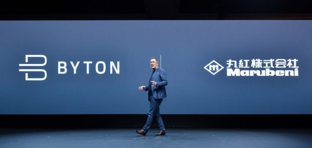 Byton will mit neuem Investor Marubeni unter anderem Heimspeicher bauen. (Foto: t3n)