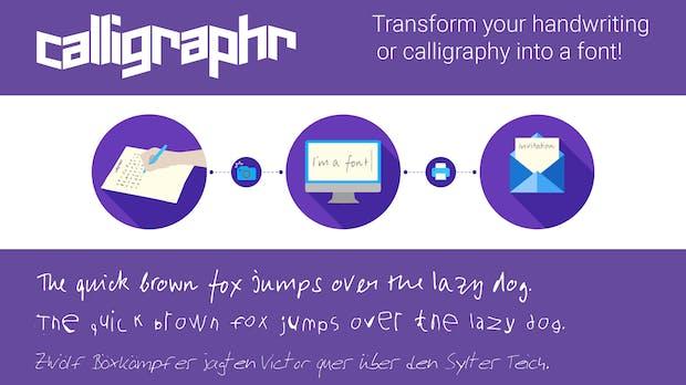 Dieses Tool macht aus deiner Handschrift einen Font – kostenlos