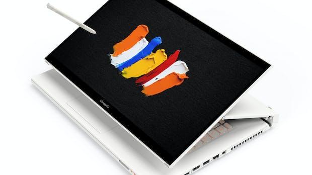 Convertibles für Kreative: Acer stellt ConceptD 7 Ezel und Ezel Pro vor