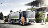 E-Econic: Daimler kündigt vollelektrischen Müllwagen an