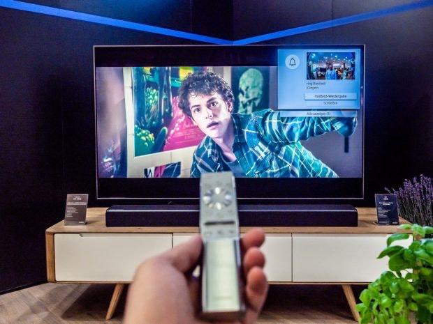 Samsung Smart-TV und Ring Videotürkling