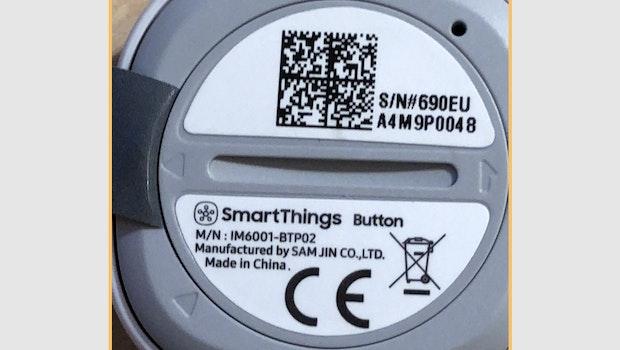 Den Smartthings Hub und die Sensoren von Samsung lassen sich einfach mit einem QR-Code verknüpfen. (Screenshot: t3n)