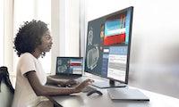 Für 4 PCs gleichzeitig: Dell zeigt Ultrasharp-43-4K-Monitor und mehr