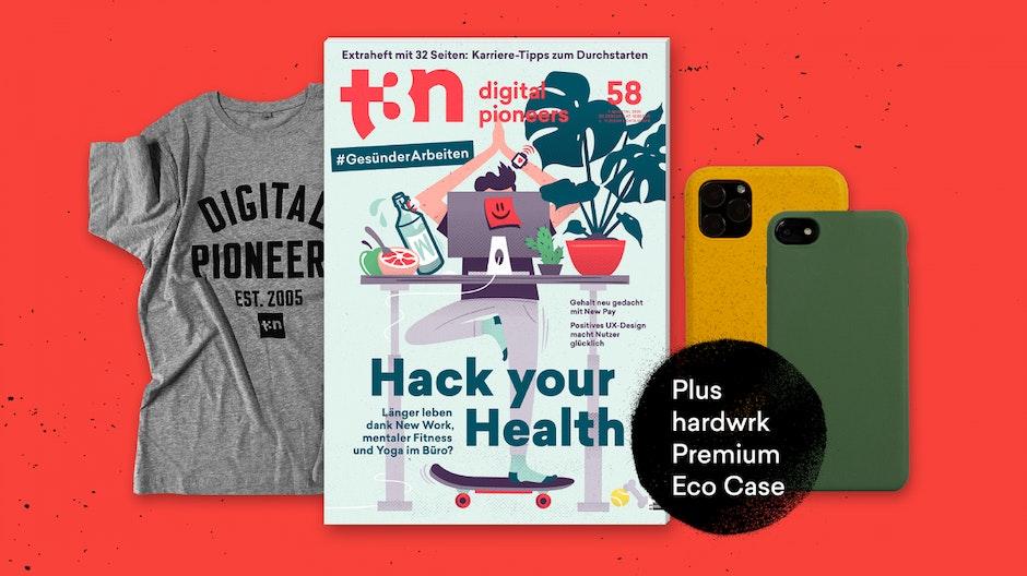 Bunt, stylish, 100 Prozent biologisch abbaubar: Das umweltfreundliche iPhone-Case – jetzt gratis zu deinem t3n Abo!