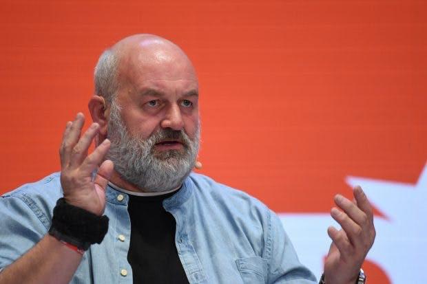 Amazon-Technikchef Werner Vogels auf dem DLD 2020 in München. (Foto: dpa)