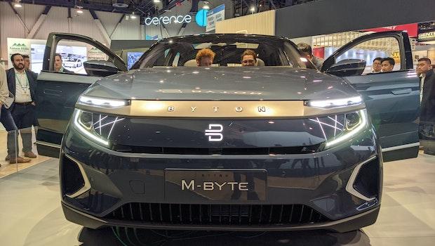 Byton M-Byte auf der CES 2020. (Foto: t3n)