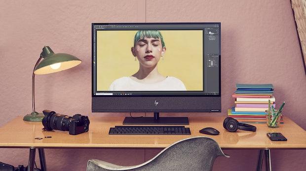 CES 2020: HP zeigt leistungsstarken All-in-One-PC mit 32-Zoll-Display