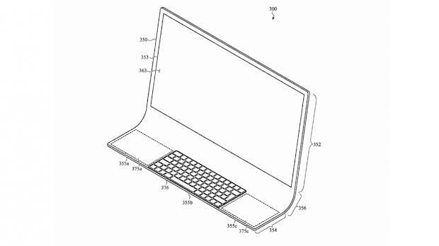 iMac der Zukunft? Apple-Patentskizze zeigt mutiges All-in