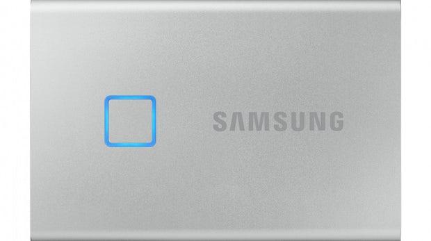 Samsung T7 Touch: Diese externe SSD lässt sich per Fingerabdruck entsperren